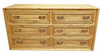 Amazon.com: Rustic Monterrey Dresser - Solid Wood - Western ...