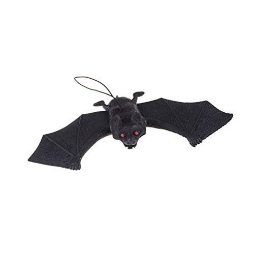 Party DIY Decorations - Halloween Tricky Props Amusing Rubber Simulation Bat Wall Hanging Masquerade Party Decoration - Bat Party Spider Bat Fimo Halloween Child Bat Halloween Bat Halloween Gh -