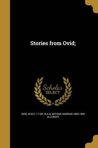 Download Stories from Ovid; (Latin Edition) PDF