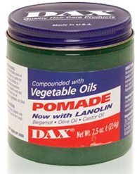 Dax Vegetable Oil Pomade with Lanolin 7.5oz by DAX