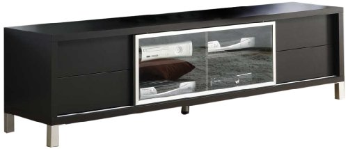 Monarch Specialties I 2530, TV Console, Euro Style, Cappuccino, 70'' by Monarch Specialties