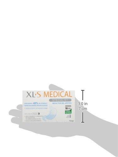 XLS Medical  - Cápsulas reductoras del apetito. Tratamiento y prevención del exceso de peso y control general del peso 12