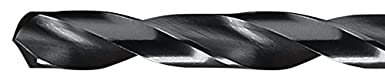 Round Shank Wire Size #78 Chicago Latrobe 150 High-Speed Steel Jobber Length Drill Bit Black Oxide Finish Pack of 12 118 Degree Conventional Point