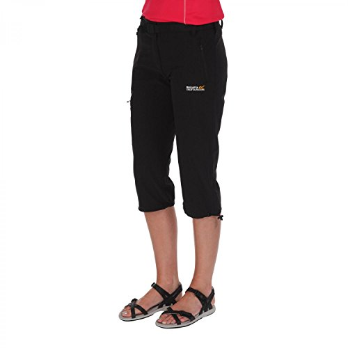 Regatta Womens/Ladies Xert II Stretch Quick Drying Walking Capris Roasted