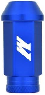 Lug Nut Mishimoto MMLG-125-BL Aluminum Competition Blue M12 x 1.25 Thread Size