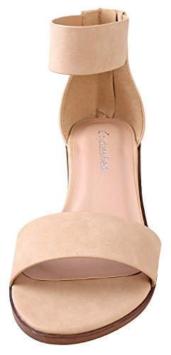Ankle Nb Dress Strap Sandal City Natural The Classified Over Chunky High Heeled Hxqw8PSI
