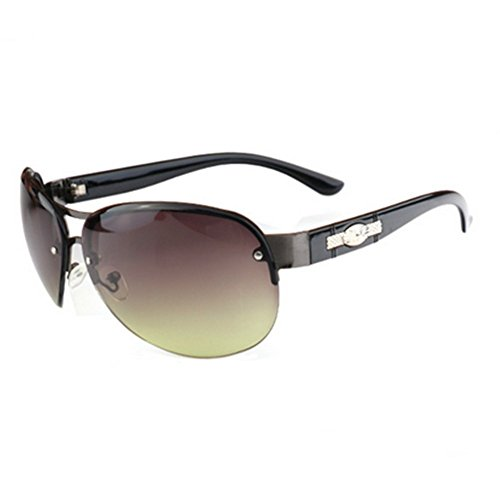 MosierBizne New Womens Fashion Metal Sunglasses - How To Glasses On Face Make Tighter