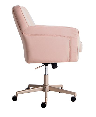 pink office chair for women memory foam cute classic girly comfy best rolling ebay. Black Bedroom Furniture Sets. Home Design Ideas