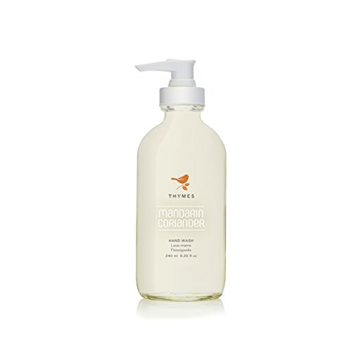 Thymes Mandarin Coriander Hand Wash-Updated Design (Bottle Changed to Glass)