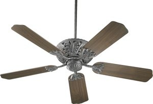 """Quorum 85525-44 Windsor - 52"""" Ceiling Fan, Toasted Sienna Finish"""