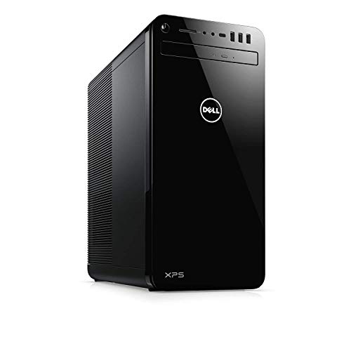 2018 Dell XPS 8930 VR Ready Gaming Desktop Computer, 8th Gen Intel Hexa-Core i7-8700 up to 4.6GHz, 8GB DDR4 RAM, 1TB HDD, DVDRW, NVIDIA GeForce GT 1030 2GB, WiFi, Bluetooth, - Geforce Nvidia Lan