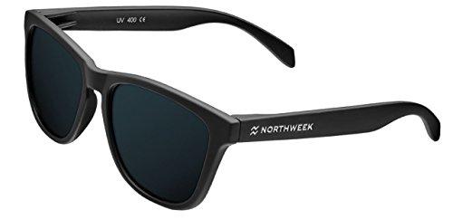 black mate black de polarizada lente Gafas sol UNISEX Northweek xqYgSw7TO