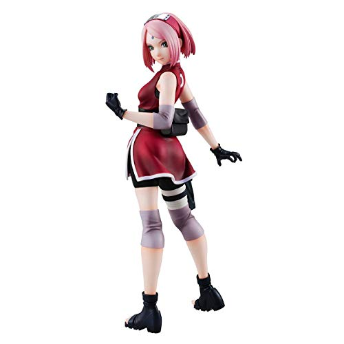 Megahouse The Last: Naruto The Movie Haruno Sakura Ver. 2 Naruto Gals 1/8 Scale Figurine de PVC