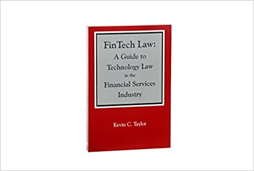 Buy FinTech Law: A Guide to Technology Law in the Financial Services