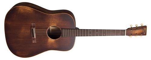 Martin StreetMaster Series D-15M Dreadnought Acoustic Guitar Natural - Martin 15 Series