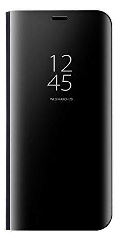 Huawei Mate 10 Lite Clear View Flip Cover - Black