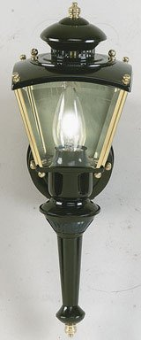 Brass Motion Coach Light Security (Sided Coach Light)