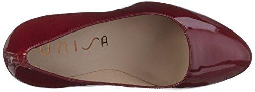 Unisa Siles_PA, Scarpe Col Tacco Donna Rosso (Rot (Chianti))