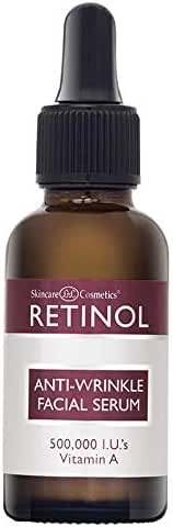 Retinol Anti-Aging, Anti-Wrinkle Facial Serum - 1 Fl. Oz.