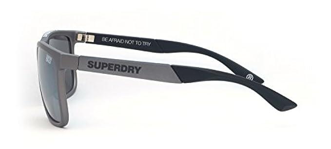 Uomo Superdry Sole Argentato - Occhiali Da Grigio