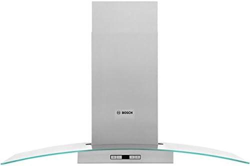 Bosch Serie 6 dwa097e51b 90 cm chimenea campana – Acero inoxidable/cristal. Da claramente vista a tu cocina y crear una luz ambiental en la cocina: Amazon.es: Grandes electrodomésticos