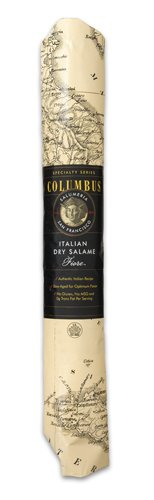 Columbus Salame Company Italian Dry Salame V2 Paper Wrap 3 Pound ()