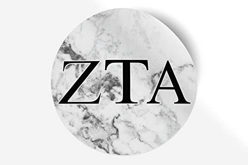 Zeta Tau Alpha Sticker Greek Sorority Decal for Car, Laptop, Windows, Officially Licensed Product, Monogram Design 5