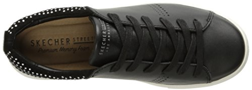 Skeche Street Frauen Moda-Clean Street Fashion Sneaker Schwarz