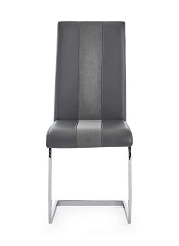 (Global Furniture USA D915DC Global Furniture Chair Grey)