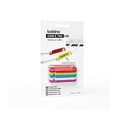 Bobino CATAG1 Cable Tag - Assorted Colours (Pack of 10): Toys & Games