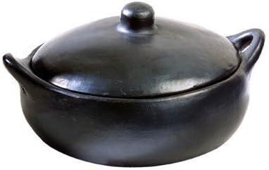 Amazon.com: La Chamba Negro Cazuela de barro, XL (4 qt ...