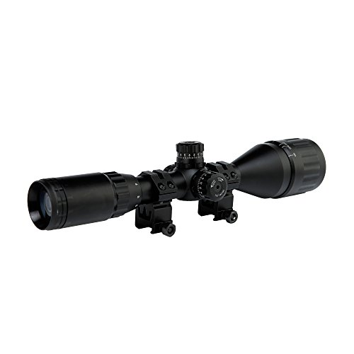 Spike 3-9X50AOL Mil Dot Air Rifle Gun Deer Hunting Scope Airsoft Telescopic Sight Riflescope