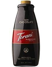 Torani Dark Chocolate Sauce, 64 Ounce