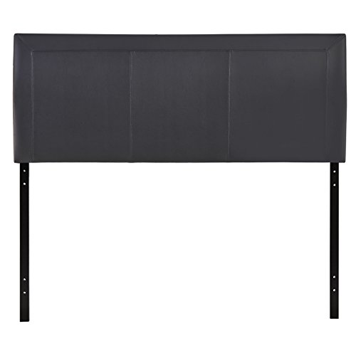 Modway Isabella Faux Leather Upholstered Queen Headboard in Black ()
