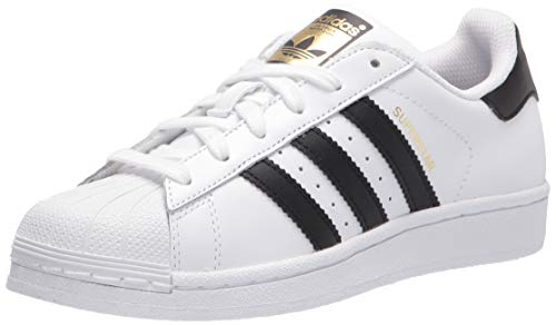 adidas mens Superstar Sneaker, Ftwwht/Cblack/Ftwwht, 13 US