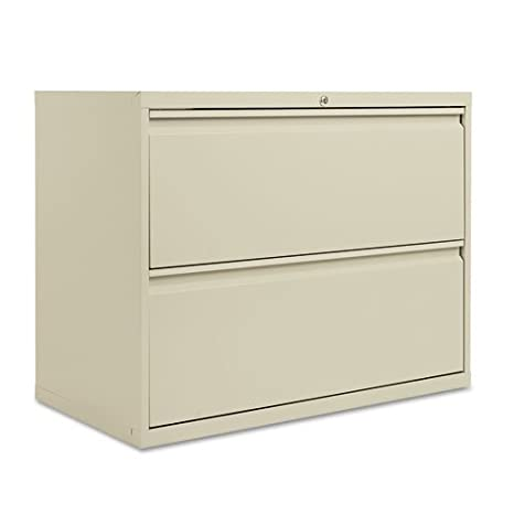 two-drawer Gabinete de archivo lateral, 36 W x 19 – 1/4d