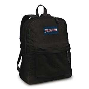 JANSPORT SUPERBREAK BACKPACK SCHOOL BAG- Black