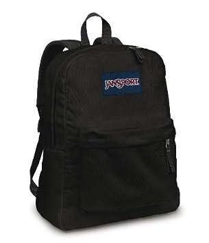 Amazon.com: JANSPORT SUPERBREAK BACKPACK SCHOOL BAG- Black: Sports ...