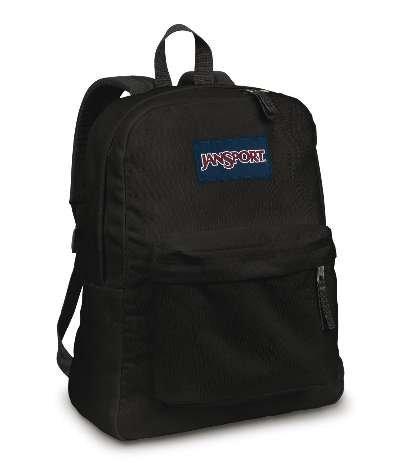 80507d5c469f Amazon.com  JANSPORT SUPERBREAK BACKPACK SCHOOL BAG- Black  Sports    Outdoors