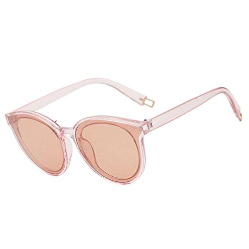 Wkaijc Meer Runder Rahmen Polarisierte Damen Mode Individualität Komfort Kreativität Sonnenbrillen,B