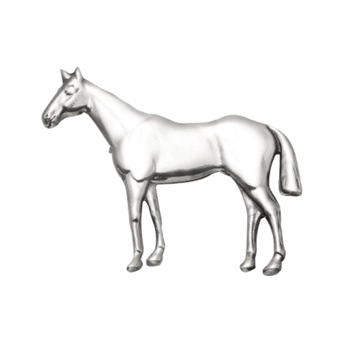 Wild Things Sterling Silver Standing Horse Pin