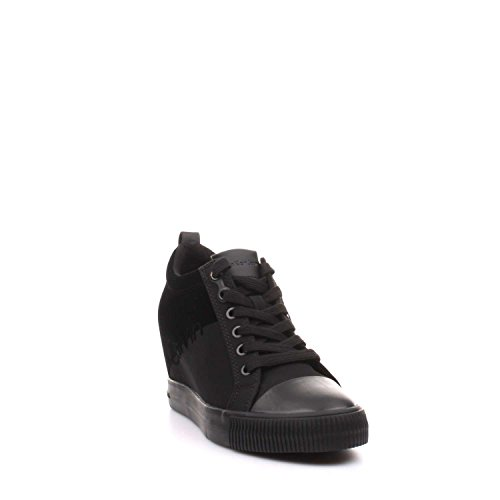 Alto Flocking Sneaker Rory Collo Donna a Klein Nero Nylon Calvin nwF0SIxBqt