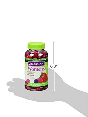 Vitafusion Women's Gummy Vitamins, Natural Berry Flavors, 450 Count Pack (6d9iq9z)