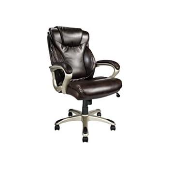 Amazon Com Realspace R Ec620 Executive High Back Chair