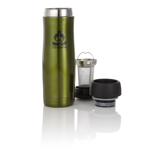 Teavana Contour Tea Tumbler, 16oz, Green (new)