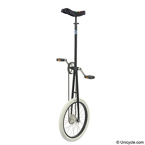 Club 5' Deluxe Giraffe Unicycle- Black