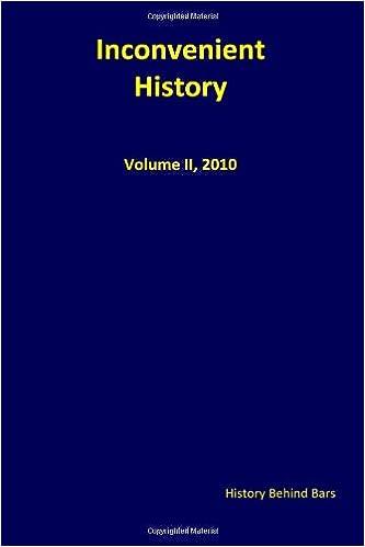 Book Inconvenient History Vol. II: Nos. 1 through 4, 2010: Volume 2