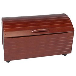 Gift Mark Treasure Chest Toy Box - Cherry