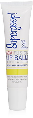 Supergoop! Fusion Lip Balm SPF 30, Acai, 0.5 fl.oz.