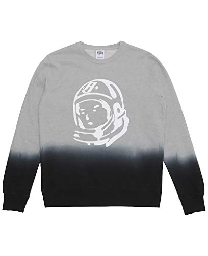 Billionaire Boys Club(Holiday 2 2016) 861-9308 BB Two Tone Crew Sweatshirt (M, Heather Grey) ()